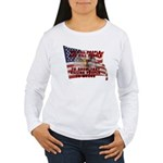We Kill People Who Kill Women's Long Sleeve T-Shir