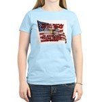 We Kill People Who Kill Women's Light T-Shirt