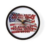 We Kill People Who Kill Wall Clock