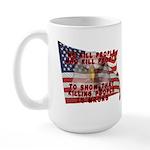 We Kill People Who Kill Large Mug