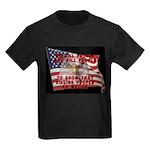 We Kill People Who Kill Kids Dark T-Shirt