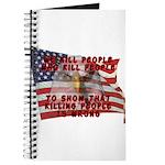 We Kill People Who Kill Journal