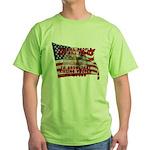 We Kill People Who Kill Green T-Shirt