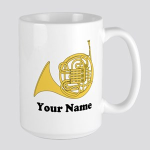 Personalized French Horn Mugs