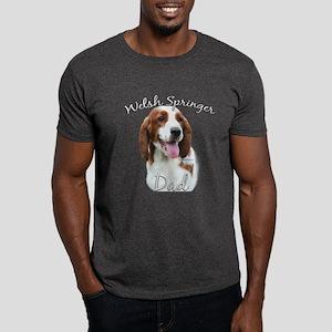 Welsh Springer Dad2 Dark T-Shirt