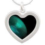 Green on black Necklaces