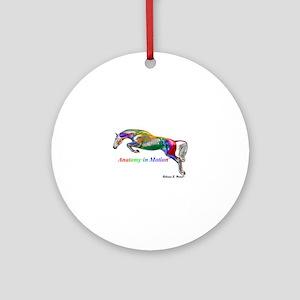 AnatomyinMotion Jump Round Ornament