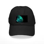 Green on black Baseball Cap