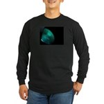 Green on black Long Sleeve T-Shirt