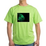 Green on black T-Shirt