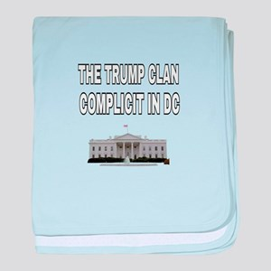 The trim clan complicit in DC baby blanket