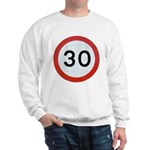 Speed sign - 30 Jumper