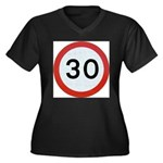 Speed sign - 30 Plus Size T-Shirt