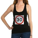 Speed sign - 30 Racerback Tank Top
