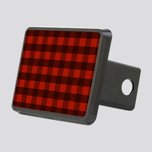 Red Buffalo Plaid Rectangular Hitch Cover