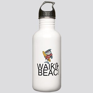 Waikiki Beach Water Bottle
