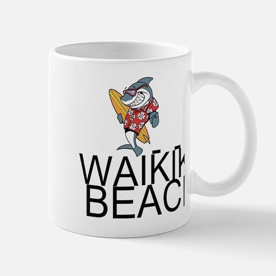 Waikiki Beach Mugs