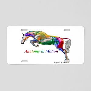 AnatomyinMotion Jump Aluminum License Plate