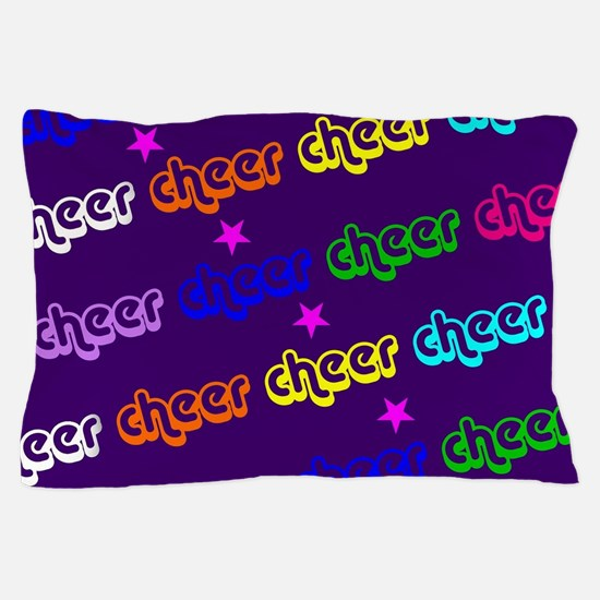 Purple Cheerleader Pillow Case
