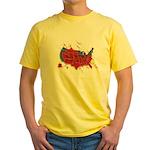 Ignorance Is Murder Yellow T-Shirt