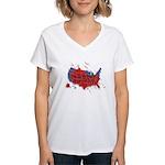 Ignorance Is Murder Women's V-Neck T-Shirt