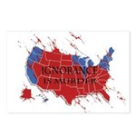 Ignorance Is Murder Postcards (Package of 8)