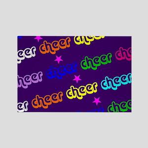 Purple Cheerleader Magnets