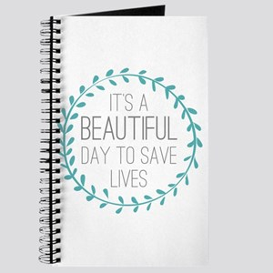 Greys Anatomy Its A Beautiful Day Journal