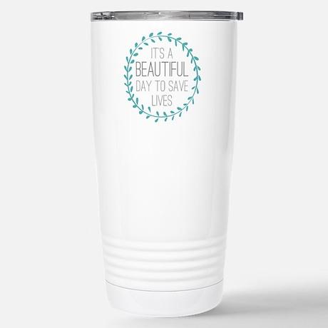 Grey's Anatomy Beautiful Day Travel Mug