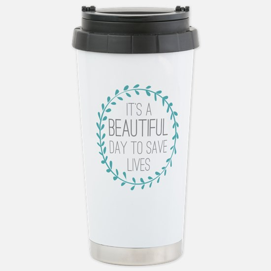 Greys Anatomy Its A Bea Stainless Steel Travel Mug
