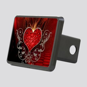 Wonderful heart with wings Hitch Cover