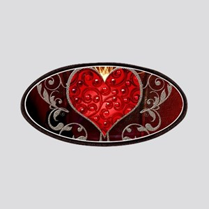 Wonderful heart with wings Patch