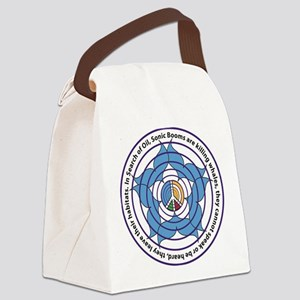 Oceanic Sonic Booms Kill Whales Canvas Lunch Bag