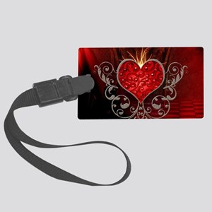 Wonderful heart with wings Luggage Tag