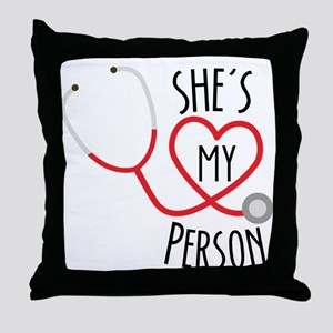 Grey's Anatomy: She's My Person Throw Pillow