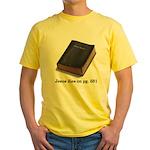 Jesus Dies Yellow T-Shirt
