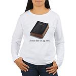 Jesus Dies Women's Long Sleeve T-Shirt