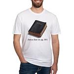 Jesus Dies Fitted T-Shirt