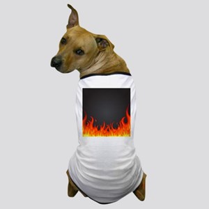 Flames Dog T-Shirt