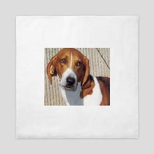 american foxhound Queen Duvet
