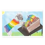 Carding Wool Postcards (Package of 8)