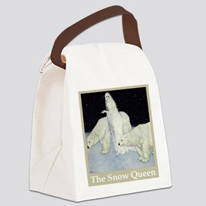 The Snow Queen Canvas Lunch Bag