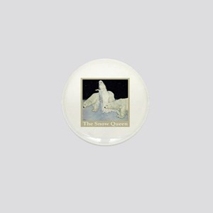 The Snow Queen Mini Button