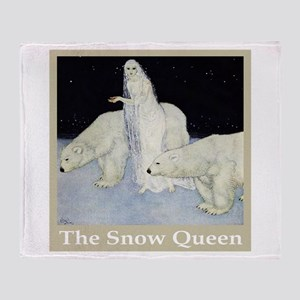 The Snow Queen Throw Blanket