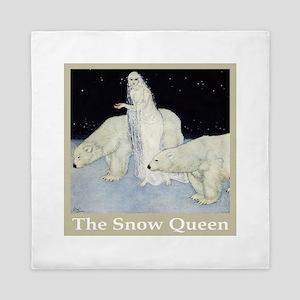 The Snow Queen Queen Duvet