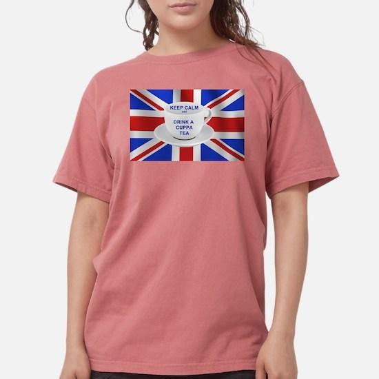 Keep Calm and Drink a Cuppa Tea T-Shirt