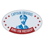 Captain Obvious Bumper Sticker