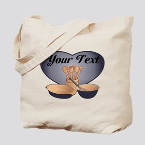 Cook or Chef Personalized Dark Blue Tote Bag