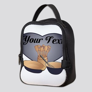 Cook or Chef Personalized Dark Blue Neoprene Lunch