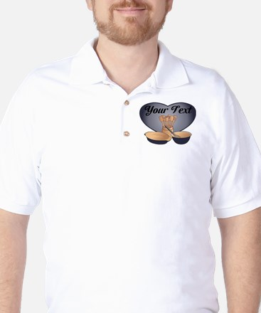 Cook or Chef Personalized Dark Blue Golf Shirt